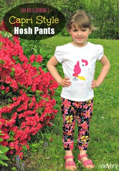 sewVery: Hosh Pants - Capri Style! + a Tutorial