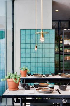 Colour | tiles | East by Hutong Group, Melbourne | Hecker Guthrie.