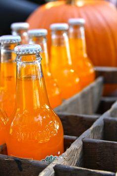 Era uma das paixões de Lauren, o refrigerante de laranja que vendia no supermercado na rua debaixo de sua casa