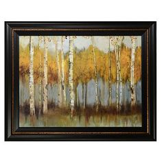 Golden Forest Framed Art Print #kirklands #artwalls