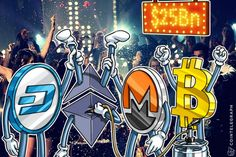 Crypto Market Is On Fire Right Now - Market Cap Nears $25 Bln| NO BUBBLE!!