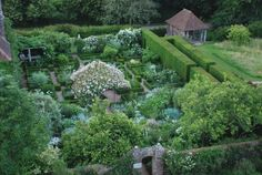 Moonlight Garden at Sissinghurst