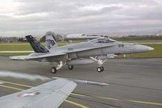 Swiss Air Force F/A18s.