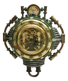 Another great find on #zulily! Steampunk Wall Clock by Pacific Trading #zulilyfinds