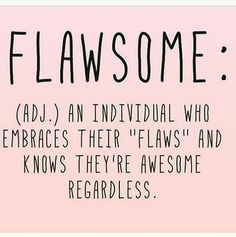Had to repost this one--hoping all of you out there can embrace ��your flaws (we ALL have them) and know you're totally awesome!! #you #are #enough #awesome #flawsome #stephbcosmetics http://gelinshop.com/ipost/1517526442165676524/?code=BUPVkJKjCns