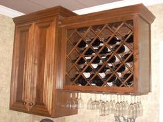 Wine Rack Cabinet | Amazon.com: Kitchen Wine Racks: Freestanding Wine Racks, Part 60
