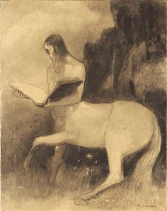 Odilon Redon, a learned centaur.