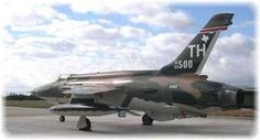 60-0500 F105D Status: On Display at Pate Transportation Museum, Cresson, TX