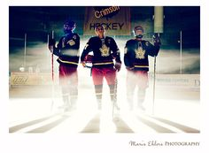 Part of a senior portrait session for 3 seniors who are also their hockey team captains #photography, #seniorportraits, #hockey, @Maris Ehlers