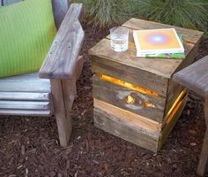 Repurpose a pallet to make a unique light box and add ambiance to your backyard oasis. Fiskars shows you how with a few simple steps and supplies.