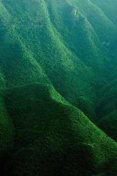 love the green mountains...
