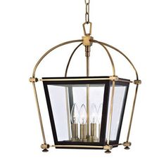 Black and gold Hudson Valley Lighting 3612