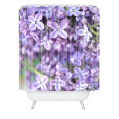 Lisa Argyropoulos Dreamy Lilacs Shower Curtain | DENY Designs Home Accessories