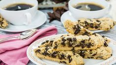 Delicious Chocolate Chip Biscotti made by Maria Provenzano! Don't mis Home & Family weekdays at 10a/9c on Hallmark Channel