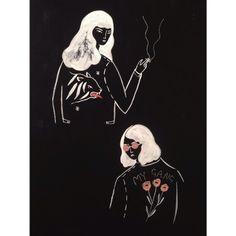 Sketchbook Girls by Alice Ferrow #illustration
