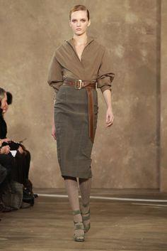 Donna Karan Pre-Fall 2011 Fashion Show Collection