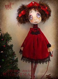 'Noel' Urchin art doll by Vicki @ Lilliput Loft