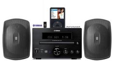 Introducing Yamaha Natural Sound Micro Home Theater Receiver Sound System with Integrated iPod Docking Station High Quality CD Player USB Port for Flash Drive  All Weather Indoor  Outdoor Speakers  50ft of 16 AWG Speaker Wire Included. Great product and follow us for more updates!