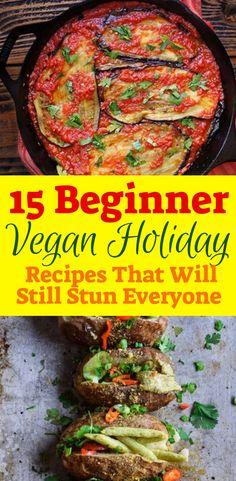 15 Beginner Vegan Holiday Recipes That Will Still Stun Everyone! Healthy Dinner Recipes For Weight Loss, Healthy Holiday Recipes, Vegan Christmas Dinner, Vegetarian Recipes For Christmas, Christmas Recipes, Cooking For Beginners, Beginner Cooking, Vegan Recipes Beginner, Keto