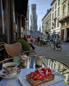 Breakfast in Belgium