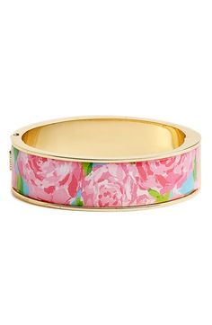 Lilly Pulitzer® 'Boca' Print Bangle | Nordstrom