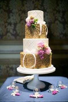 Spring Wedding Cake | Photo by Meg Ruth Photo