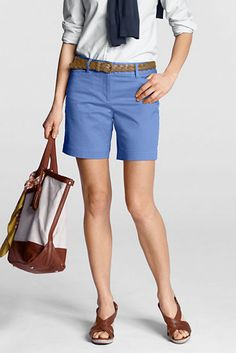 """Shorts for women over 40. You don't what """"Daisy Duke"""" shorts when you're over 40."""