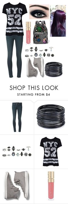 """""""Untitled #652"""" by nerdynerdy on Polyvore featuring rag & bone, ABS by Allen Schwartz, Sisters Point, Keds, Smith & Cult and Marc Jacobs"""