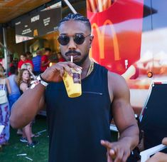 Uploaded by lovelyღ. Find images and videos about michael b. jordan and michael b jordan on We Heart It - the app to get lost in what you love. Fine Black Men, Handsome Black Men, Black Boys, Fine Men, Handsome Man, Black Is Beautiful, Gorgeous Men, Michael Bakari Jordan, Michael B Jordan Instagram