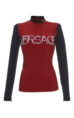 @versaceofficial #ColorBlock #Graphic #LongSleeve #Tee. #PreOrder @modaoperandi https://www.modaoperandi.com/versace-ss17/color-block-graphic-long-sleeve-tee #Designer #DonatellaVersace #Dresses #Fashion #FashionWeek #Jackets #MFW #MFW16 #MFW2016 #MilanFashionWeek #Milan #Milano #ModaOperandi #MyStyle   #Runway #TrunkShow #SS17 #SS2017 #VERSACE #Womenswear www.versace.com www.modaoperandi.com