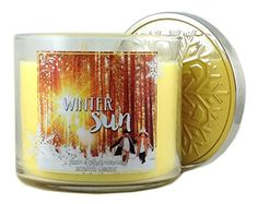 Bath & Body Works Winter Sun Scented Candle 3 Wick 14.5 Oz 2015 Collection Bath & Body Works http://www.amazon.com/dp/B016U2HSZ6/ref=cm_sw_r_pi_dp_hiH3wb12J8RK8