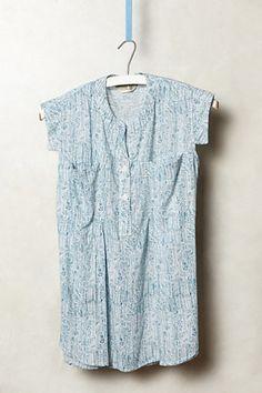 #anthropologie | summer blouse cap sleeve style