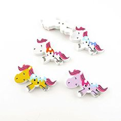 210 Pieces Sewing Clothing Buttons Sew On Wooden Wood Knopfe BB0506 Elephant On Horse Colorful Plush Lovely Accessory Decoration Handmade Cute Scrapbook Flatback DIY *** Check out the image by visiting the link.