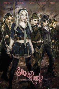 Sucker Punch Girls Poster