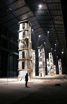 Anselm Kiefer giant Installation in Paris
