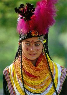 Central Asia | Kalash Tribe from the boder area of Pakistan and Afghanistan