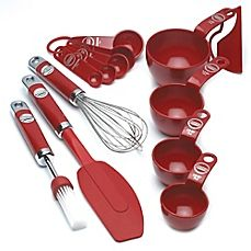 image of KitchenAid® 5-Piece Mixing Set in Red