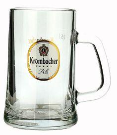 Krombacher Tankard (Fluted) 0.5L   German Glasses