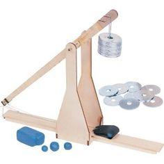 Pitsco 26635 Laser-Cut Basswood Trebuchet Kit