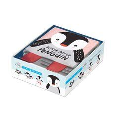 Zacht Stoffen Boekje Pinguïn van Wee Gallery ✓Shop Wee Gallery Soft Books online bij Little Wannahaves ✓Bezoek onze winkel in Utrecht ✓Unieke items voor Kinderen
