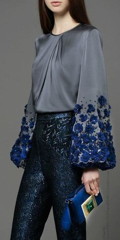elhamzh:  padlocksandpearls: ANDREW GN FALL 2014 (dinner party)