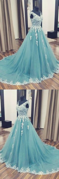 Beautiful Prom Dresses Ball Gown Sweep/Brush Train Sexy Prom Dress/Evening Dress JKL407 #annapromdress #prom #promdress #evening #eveningdress #dance #longdress #longpromdress #fashion #style #dress