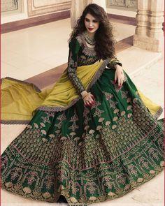 Buy Engagement Lehenga Choli for Bride Online Lehenga Choli Wedding, Indian Bridal Lehenga, Pakistani Bridal Dresses, Indian Dresses, Wedding Dresses For Girls, Indian Wedding Outfits, Bridal Outfits, Designer Lehnga Choli, Designer Bridal Lehenga