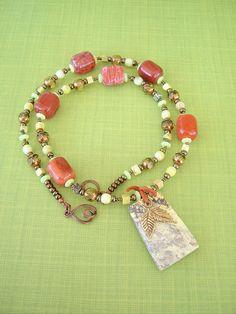 Boho Southwest Necklace Cowgirl Necklace Turquoise by BohoStyleMe