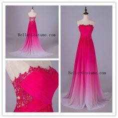 2016 Ombre Prom Dresses, Ombre Prom Dress, Ombre Evening Dresses, Ombre Formal Dresses