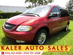 2002 Chrysler Town & Country $3,988