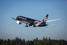 Our new 787-9 Dreamliner taking off. #AirNewZealand #AirNZ #NewZealand
