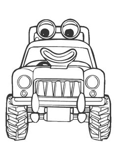 Mac Free Printable Tractor Coloring PagesFreePrintable Coloring