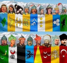 TÜRK ÖNDERLERİ History Of Islam, History Facts, World History, Palestine Art, Turkish Army, Turkish People, The Turk, Medieval Armor, Islamic World