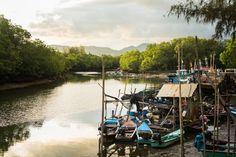 Fishing Village Phuket Thailand! #Asia #Thailand #Phuket #Nature #Clouds #WithLocals #Fishing #Traveling #Travel #Trip #eOasia